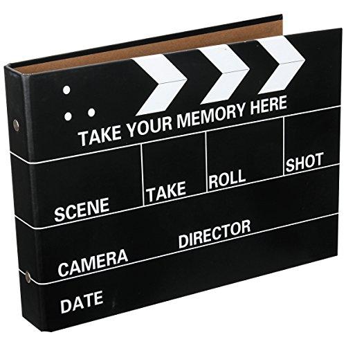 [Fujifilm Instax Mini Foto Álbum] - CAIUL 50 Páginas DIY Álbum para Fujifilm Instax Mini 70 7s 8 8+ 9 25 26 50 90/ Pringo 231/ Instax SP-1/ Polaroid PIC-300P Z2300 Film (Tablilla de la Película)