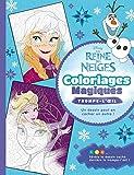 LA REINE DES NEIGES - Coloriages Magiques - Trompe-l'oeil - Disney
