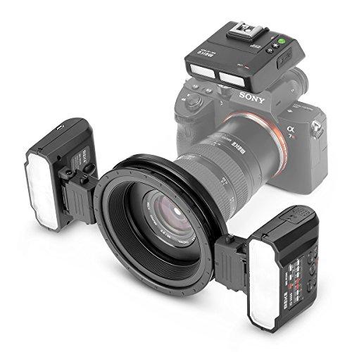 Meike MK-MT24S 2.4G Wireless Macro Twin Lite Flash for Sony A9 A7III A7IIK A7RIII A6400 A6300 A6000 A6500 A6600 and Other MI Hot Shoe Mount Mirrorless Cameras