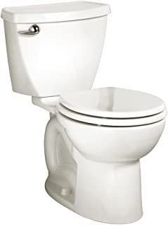 American Standard 270DB001.020 Cadet 3 Round Front Two-Piece Toilet with 10-Inch Rough-In, White