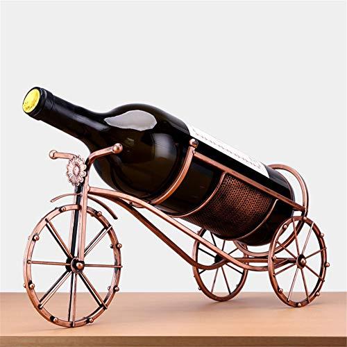 XZYP driewieler drinken zwarte beer wijnfles houder in rustieke dierlijke beeldhouwkunst, rekken en decoratieve geschenken voor fans Multi kleuren