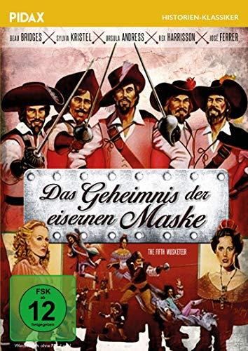 Das Geheimnis der eisernen Maske (The Fifth Musketeer) / Abenteuerfilm nach dem Roman von Alexandre Dumas mit absoluter Starbesetzung (Pidax Film- und Hörspielverlag)