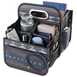 High Road Front and Back Seat Car Organizer Caddy with Movable Dividers (Southwest) (Southwest)