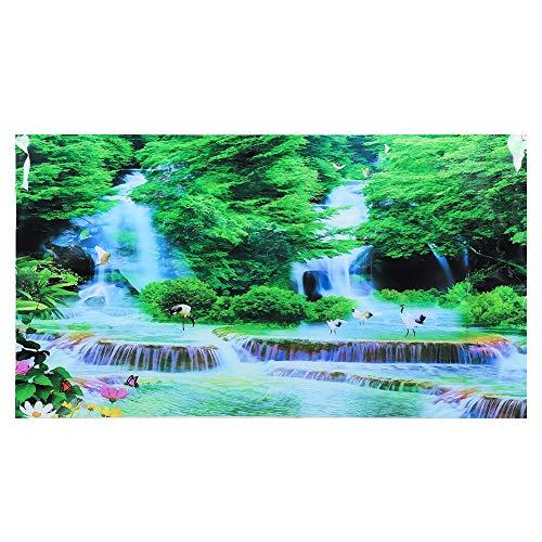 Vikye Aquarium Hintergrund, PVC Aquarium Hintergrund Aufkleber, für Fotografie Kinder Kinder Geburtstagsfeier Dekoration Studio Requisiten