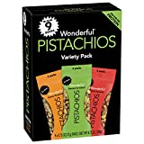 Wonderful Pistachios No Shells 0.75 Ounce Variety Pack (9 Count)
