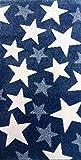 ACVILA Alfombra PIE DE Cama Azul 60x110 cm Matrix 5610