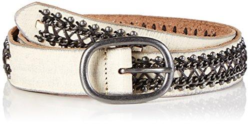 Cowboys Belt BV (Apparel) Damen Cowboysbelt Gürtel, Weiß (Off White 201), Large (Herstellergröße: 95)