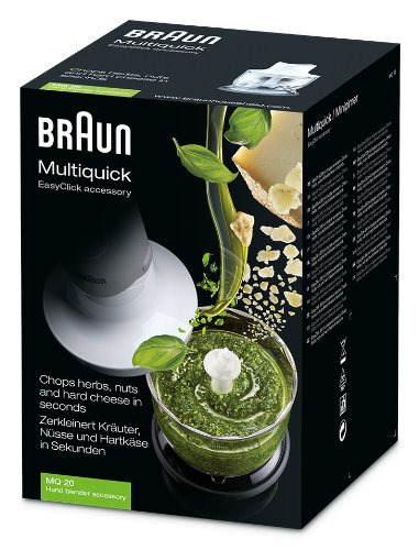 Braun-Zerkleinerer-350-ml-Aufsatz-MQ-20-Stabmixer-Zubehr-kompatibel-mit-Braun-MultiQuick-3-7-mit-EasyClick-System-wei