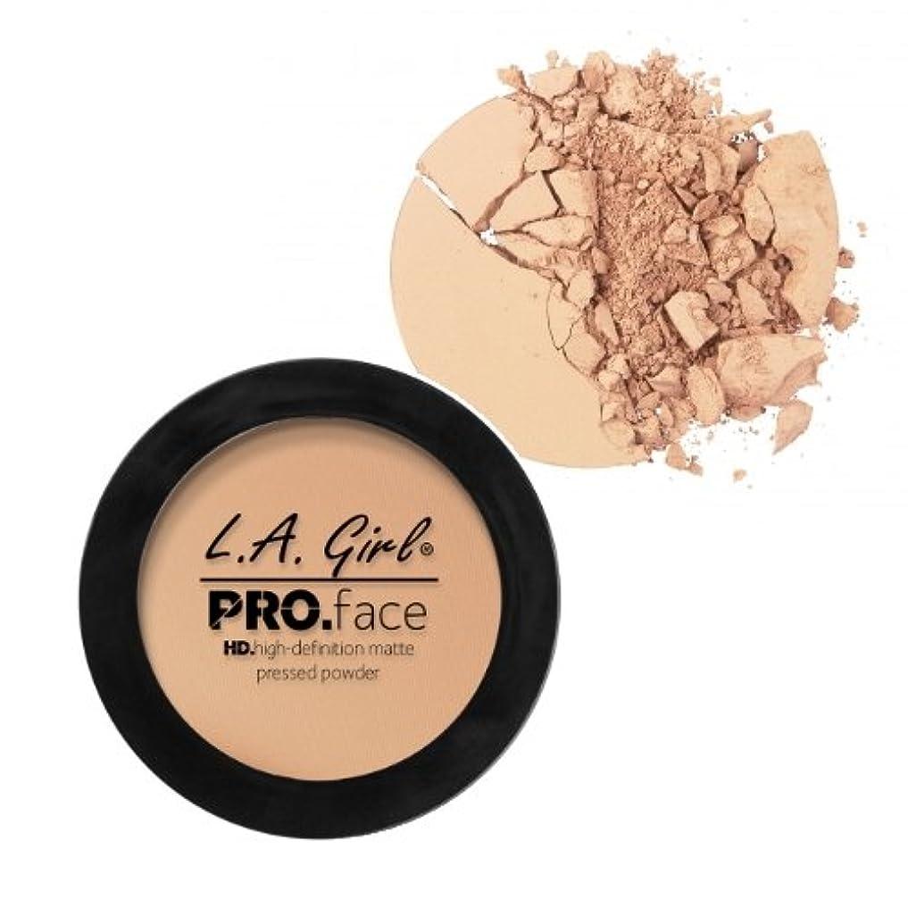 ハンバーガー北極圏一貫した(6 Pack) L.A. GIRL PRO Face Powder - Fair (並行輸入品)