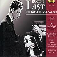Eugine List/ Great Piano Concertos