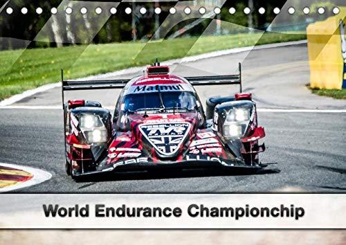 World Endurance Championship (Tischkalender 2021 DIN A5 quer): Ein Kalender für alle WEC Fans (Monatskalender, 14 Seiten ) (CALVENDO Sport)