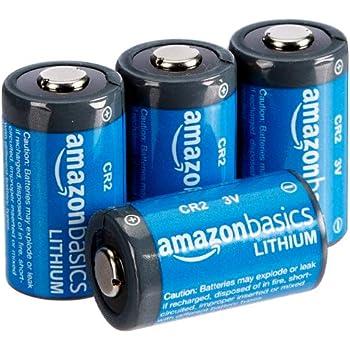 AmazonBasics - Pilas de litio CR2 de 3 V, Pack de 4: Amazon.es ...