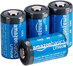 AmazonBasics - Pilas de litio CR2 de 3 V, Pack de 4