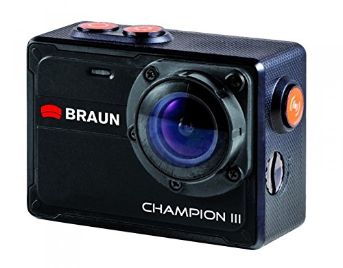 Braun Photo Technik Champion III 4K Action CAM 57522 (SD-kaart)