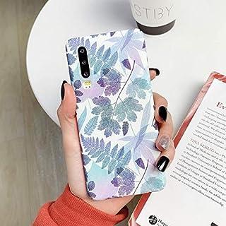 MIEOSEG Retro Leaf Phone Case For Huawei P30 P20 Pro Lite Mate 20 30 Pro Honor 20 Pro 8X 9X Luxury PC Hard Full Body Back ...