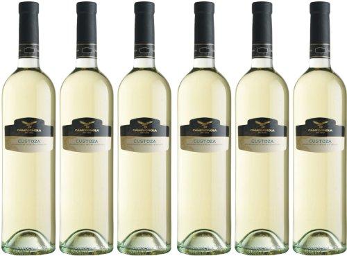 Custoza - Campagnola - weiß - trocken - 12,5%vol. - 6er Paket
