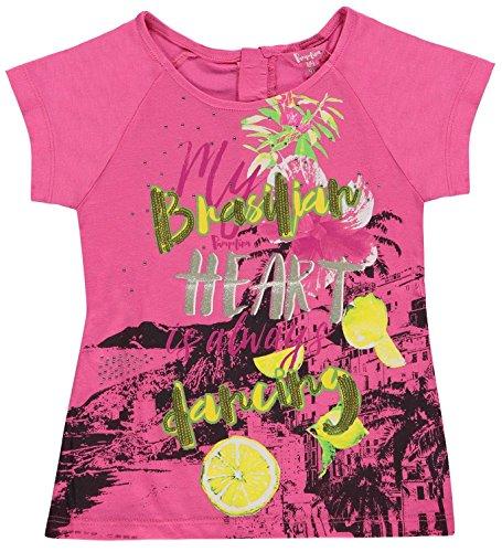 Pampolina T-Shirt Mädchen Shocking pink,104