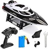 RC Boat Modelo Juguete para niños 2.4GHz Control Remoto Barco de Verano Juguetes de Agua de Verano Capitive Speedboat 35km / h