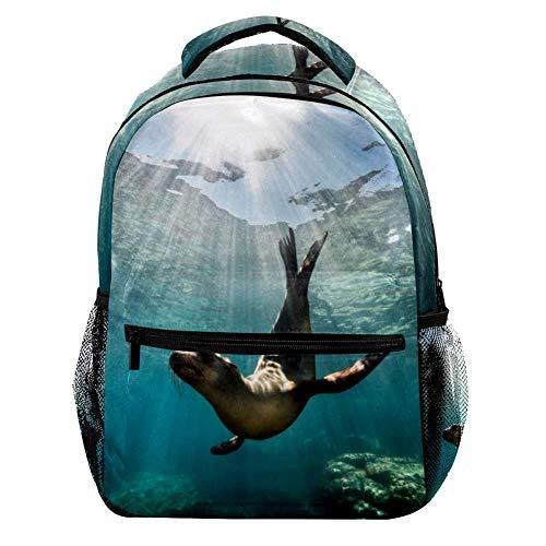 TIZORAX Oriental Cinese Rosso Lanterna Zaino Scuola College Bag Bookbag Escursionismo Viaggio Zaino per Donne Uomini Motivo 2 29.4x20x40cm/11.5x8x16 in