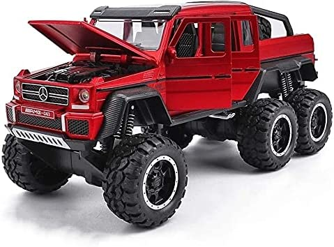 Max 73% OFF PJDOOJAE Alloy Very popular! Die-Casting Model Car Off-Road B Vehicle 6×6 Pull