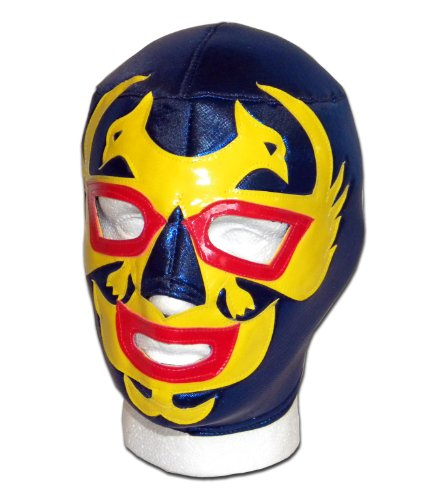 Luchadora  DOS Caras Blau Maske Lucha Libre Mexikanische Wrestling
