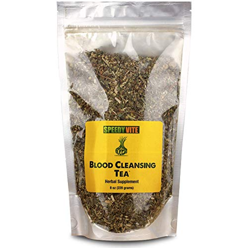 SpeedyVite Blood Cleansing LifeBoost Tea Organic –Cleanses & supports natural removal of excess waste chemicals from the blood stream Chaparral Echinacea Chamomile.. Herbal Supplement