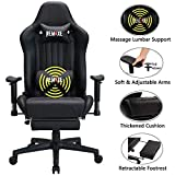 Gaming Chair with Footrest,Computer Gaming Chair High-Back Racing...