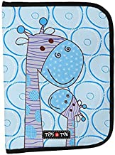 Tris&Ton Portadocumentos para bebé, niño y niña modelo Jirafas Azul (Tris y Ton)