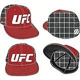 Reebok UFC Mesh Back Red/Black Snapback Hat (L/XL)