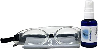 Eyeseals 4.0 Hydrating Sleep Mask Bundle with Soothing Eye Mist for Dry Eyes at Night (Clear)