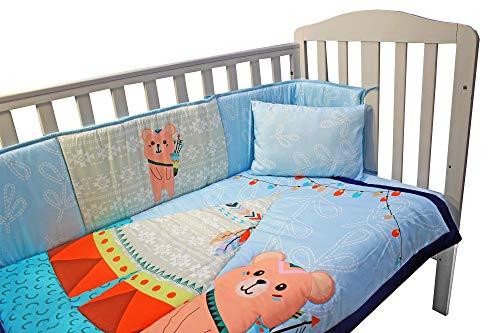 Parure de lit complète pour chambre d'enfant avec drap-housse et taie d'oreiller