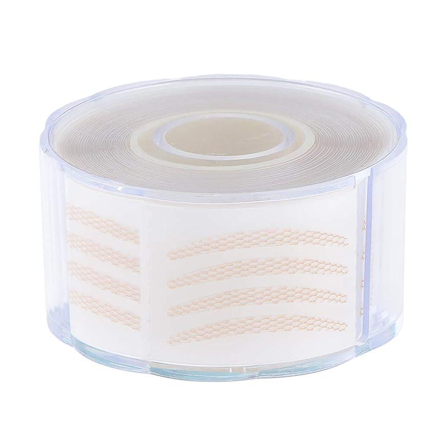 出演者弾性曇った1組の220組の見えない繊維のストリップの二重まぶたの持ち上がるテープ - 2.5 x 0.2 cm