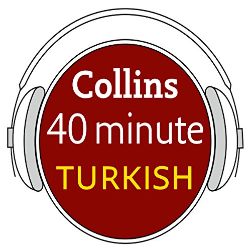 Turkish in 40 Minutes audiobook cover art