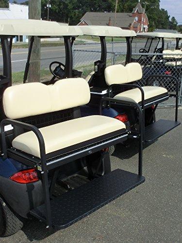Golf Cart Rear Flip Seat for Club Car Precedent Buff