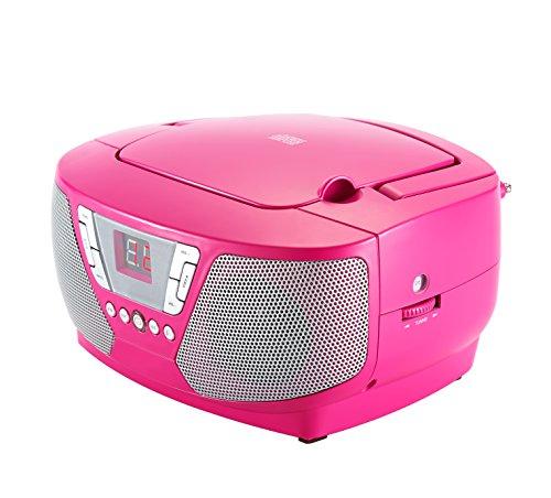 Bigben Interactive CD60RSSTICK draagbare CD-speler roze - CD-speler (FM, Audio, CD-speler, draagbaar, CD-speler, roze, 1 disc, Next, Pause, Play, Preced, Program, Herhalen, Aan, Uit)
