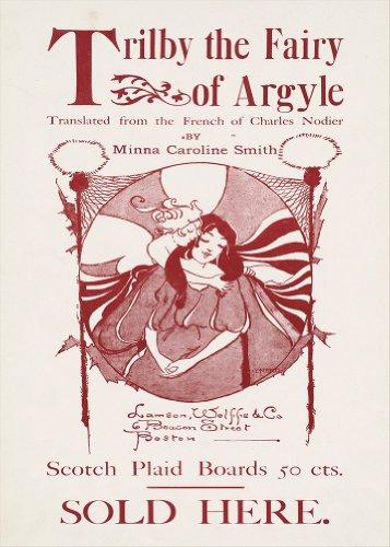 Von ARGYLE Fine Art Vintage Filzhut Die Elfe designt von Minna Caroline Smith. Design von ETHEL Schilfrohr 250gsm ART glänzend A3 Reproduktion Poster Cover