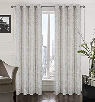 Best white gold curtains Reviews