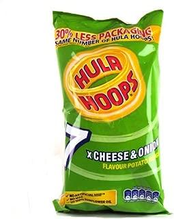 KP Hula Hoops Cheese & Onion Snacks 7 X 25G