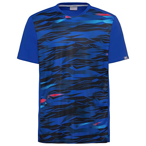 HEAD Slider T-Shirt B T_Shirts Garçon Multicolore FR : L (Taille Fabricant : L)