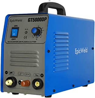 EPICWELD GT5000DP 50 Amp Dual Voltage portable IGBT inverter Plasma Cutter with Pilot Arc