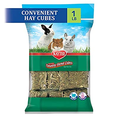 Kaytee Timothy Hay Blend Cubes 1 pound from Central Garden & Pet