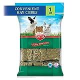Kaytee Natural Timothy Hay Cubes High Fibre Food, 454 g