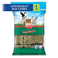 Lower protein and calcium supports urinary health High fibre hay aids in digestive health Provides added nutritional variety Complements any Kaytee fortified food Suitable for rabbits, guinea pigs and other small animals