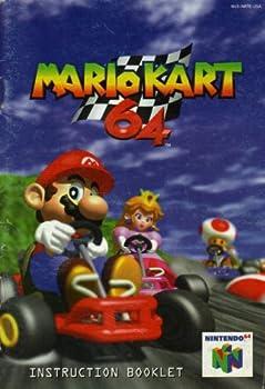 Mario Kart 64 N64 Instruction Booklet  Nintendo 64 Manual Only   Nintendo 64 Manual