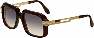 c9be10f5aa1e Cazal 607 2 Sunglasses 080SG Amber Brown Matte Shiny Gold Brown Gradient