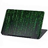 Laptop Folie Cover: Stranger Things Klebefolie Notebook Aufkleber Schutzhülle selbstklebend Vinyl Skin Sticker (13-14 Zoll, LP5 Matrix Code)