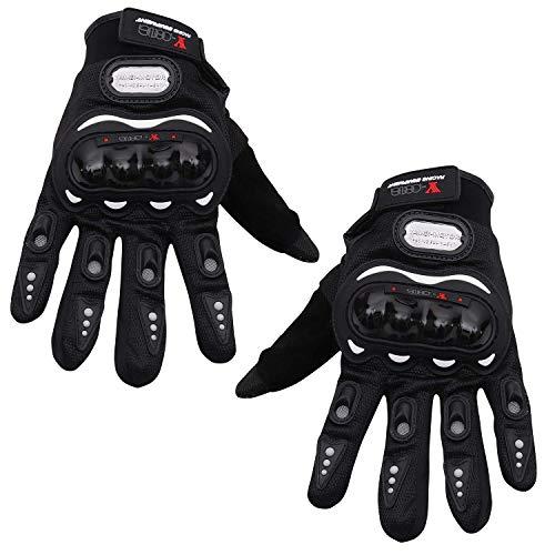 takestop® handschoenen Moto ws1323 maat XL met enkelbescherming, anti-slip bekleding