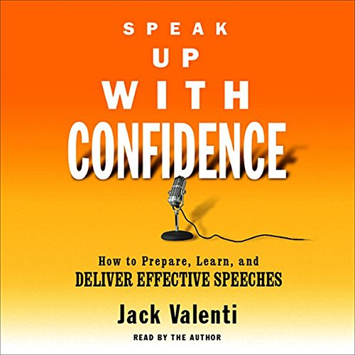 Speak Up with Confidence audiobook cover art