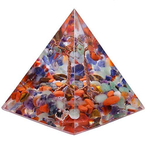 ZTTT Kristallkiesbaum des Lebens Pyramide