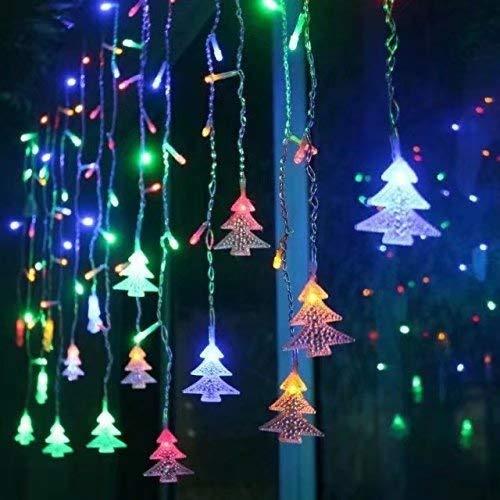 Pertop Cortina de Luces, Luz Cadena, Luz de Cortina, LED Guirnaldas lu